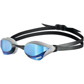 arena Cobra Core Swipe Mirror Occhiali Da Nuoto, nero/bianco